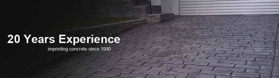 o flynn landscaping imprinted concrete driveways cork decorative